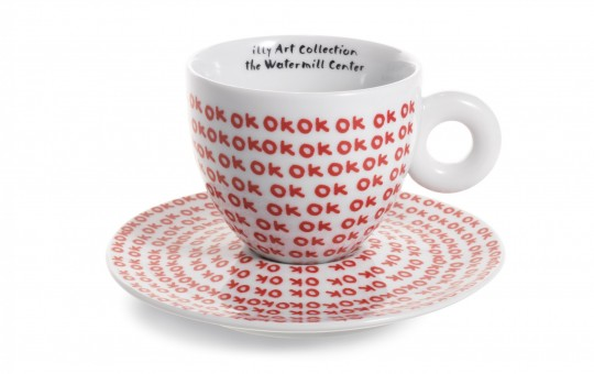 فنجان قهوه بر اساس طراحیهای رابرت ویلسون به سفارش شرکت قهوه ایلی